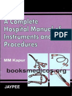 A Complete Hospital Manual of Instruments and Procedures.pdf