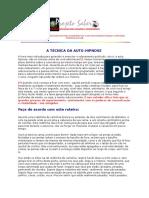 Projeto Saber - A Técnica Da Auto Hipnose - Criatividade.doc
