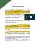 65250140 Introduccion Al Metodo de La Intervencion Sociologica Alain Touraine (1)
