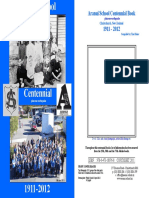 Aranui School Centennial Book Plus One Earthquake 1911-2012
