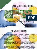 PENGUJIAN MIKROBIOLOGI