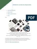 Práticas Com o Multímetro No Teste de Componentes