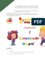Fichas Implementacion Pedagogica Tres Años Vero