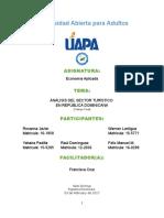 Análisis Del Sector Turístico en Rep. Dominicana (Final)