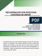 Inyección de vapor RAFAv3