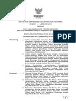 PMK Nomor 113 Tahun 2013 Ttg Tatacara Pembiayaan Proyek SBSN (SUDAH DICABUT)