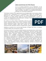 Actividades Económicas de Villa Nueva