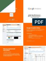 Google Analytics Leistungen und Preise 2010