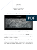 Art review of Chiharu Shiota