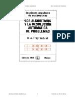 Los algoritmos y la resolucion automatica de problemas - Boris Avraamovich Trajtenbrot.pdf