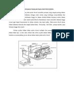 Sistem Bahan Bakar Pada Motor Diesel