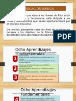 Educación Básica, Marco Curricular y Diagnóstico