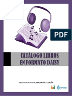Catalogo Audiolibros Once