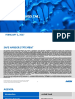 Q4 2016 Amgen Earnings Conference Call Presentation