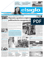 Edición Impresa Elsiglo 03-02-2017