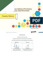USER GUIDE E-Purchasing Penyedia