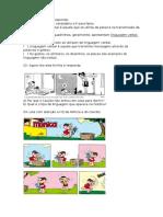 Exercício Portugues