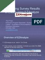 Updated EZAnalyze PPT