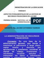 _primera Sesion Recursos Financieros Ucv
