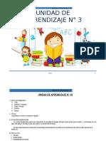 UNIDAD DE APRENDIZAJE - MAYO -  2° - 2015