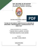 3.Fichas de Recursos Turiticos Inventariados de Amazonas