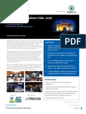 Argus Asian Petroleum Coke 2016 pdf | Indemnity | Tort