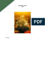 Proposal Natal 2016