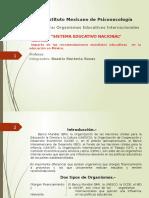 sistemaeducativonacionalimpactodelasrecomendacionesmundiales-160114173410