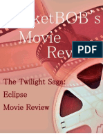 The Twilight Saga Eclipse Movie Review