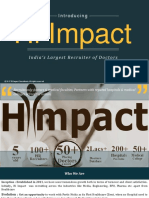 Healthcare Digital Marketing in india | Company Profile – Hiimpact