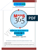 08 Economy Part 3 [Vision 365 Mains 2016]