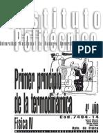 7404-14 FISICA - Primer Principio de La Termodinámica