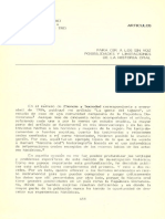Baud, Michiel Posibilidades y Limitaciones de La Historia Oral