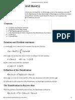 Hamiltonian (Control Theory)