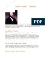 Bb How to Agree in Prayer – Charles Finney