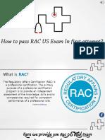RAC US Exam Questions