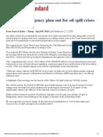 OnlineOilSpillAdvisory BStandard 09-04-2015