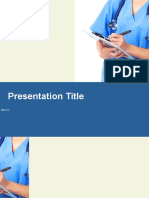 Nurse Ptt Template