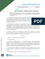 Galicia Normativa pesca continental 2017