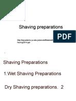 Shaving 2014