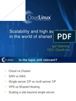 Scalability and high availability in the world of shared hosting.pdf