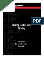 Hunting Rootkits With Windbg-P1