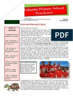 Newsletter Vol 1