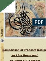 Transom Analysis Comparison