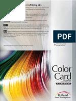 Rutland Color Card