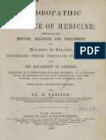 Homoeopathic Practice of Medicine