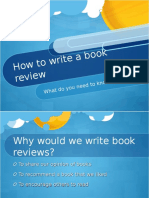 book review powerpoint