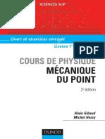 Cours de Physique Mécanique Du Point