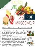 Alimentação Saudável - SLIDE