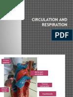 Circulation and Respiration